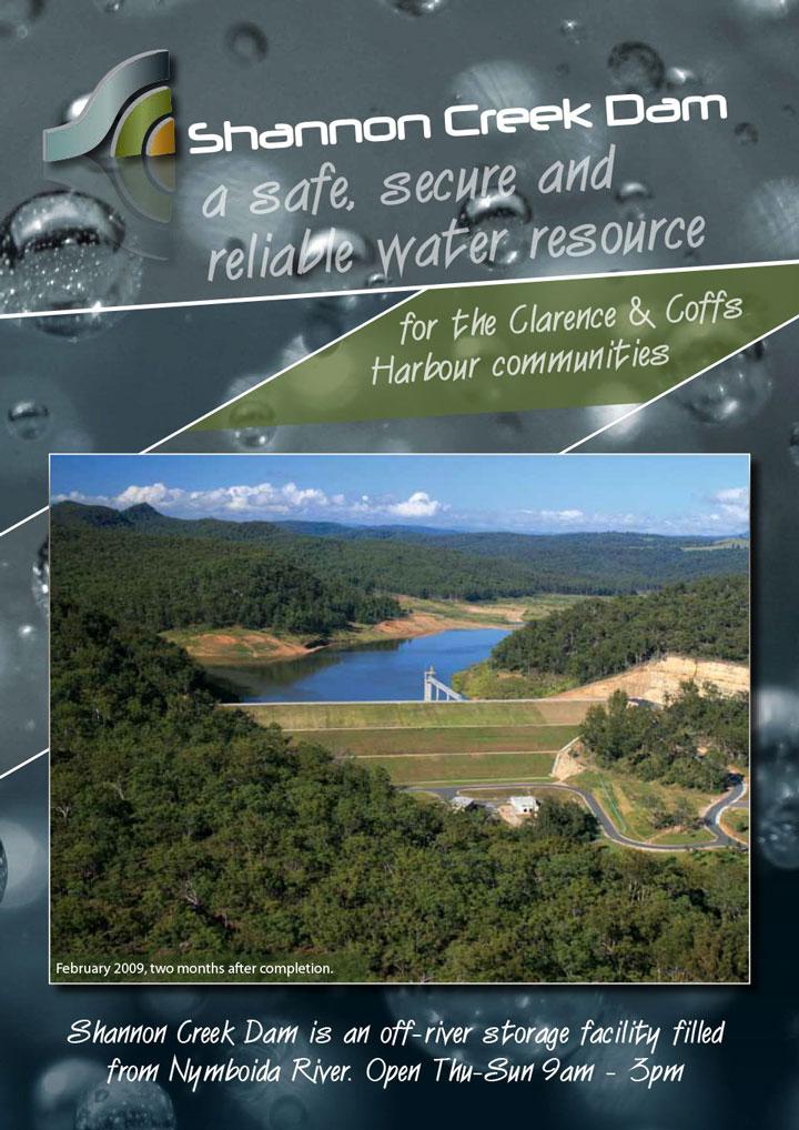 Interpretive project, Shannon Creek Dam