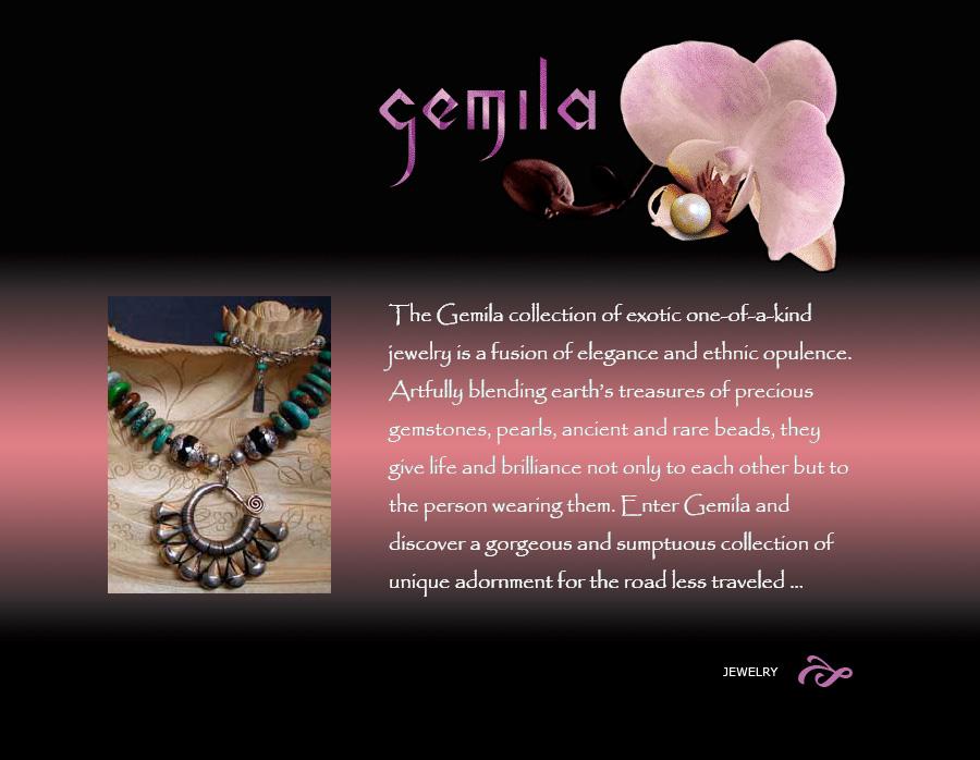 Gemila Website ecommerce design