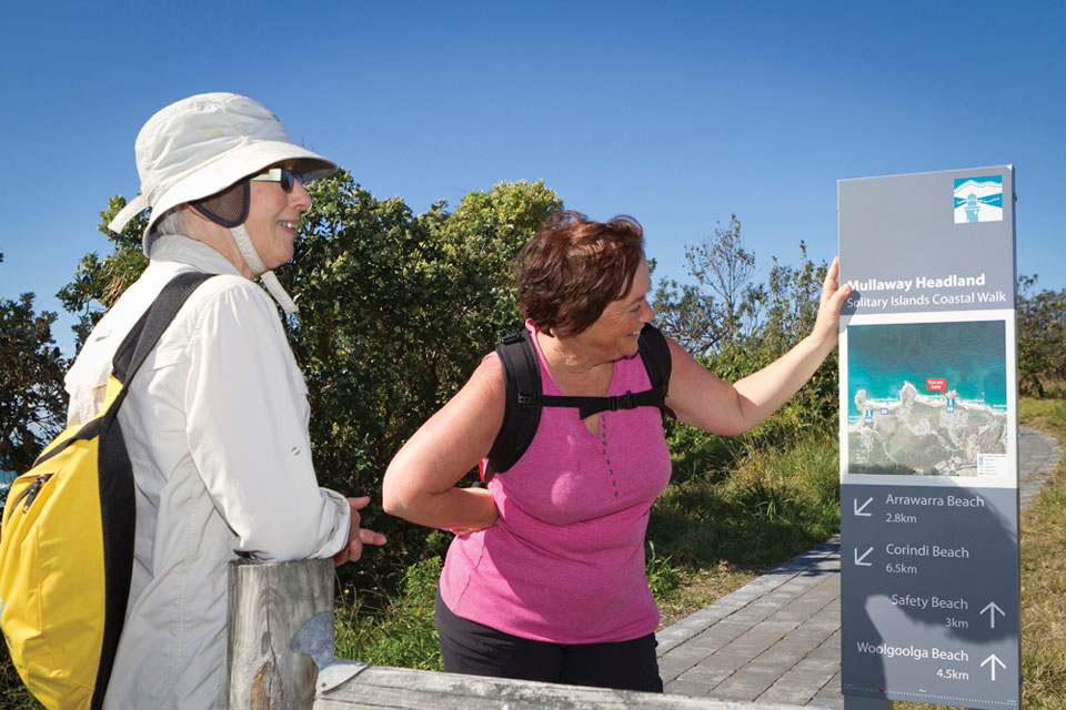 Solitary Islands Coastal Walk - Wayfinding Minor Directional