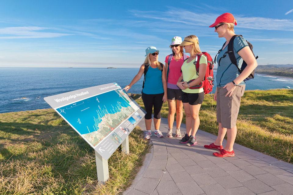 Solitary Islands Coastal Walk wayfinding signage