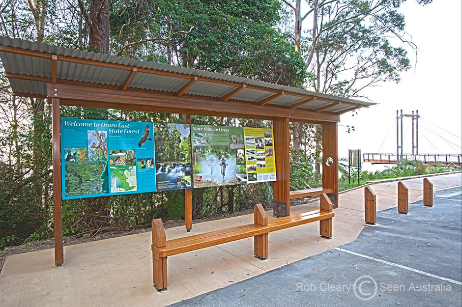Tourism Signage, Sealy Lookout