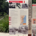 Fernleigh Track Heritage signage