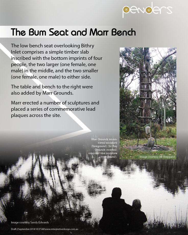 Heritage Interpretive Signage - The Bum Seat
