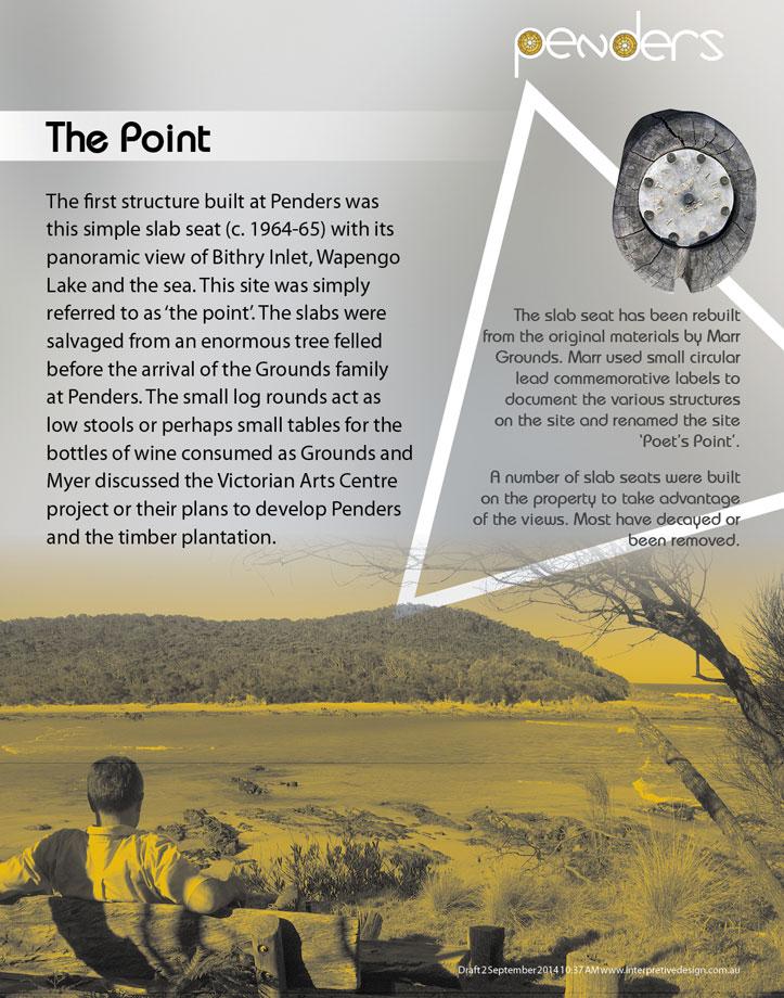 Heritage Interpretive Signage - The Point