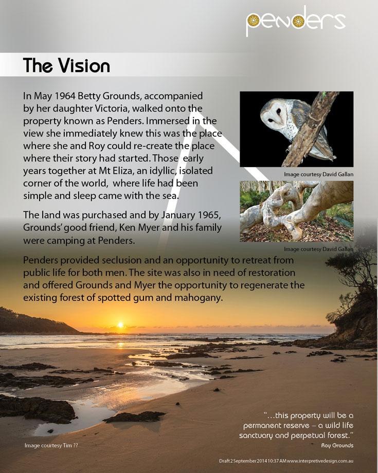 Heritage Interpretive Signage - The Vision