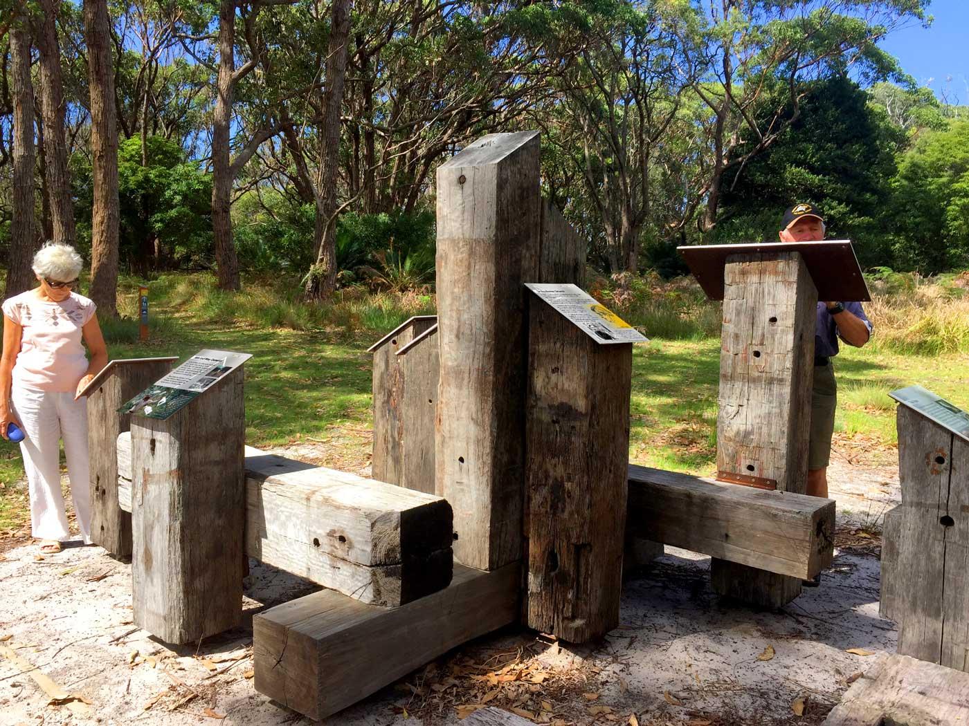 Interpretive Hub Penders Heritage Site