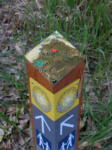 Penders wayfinding totem