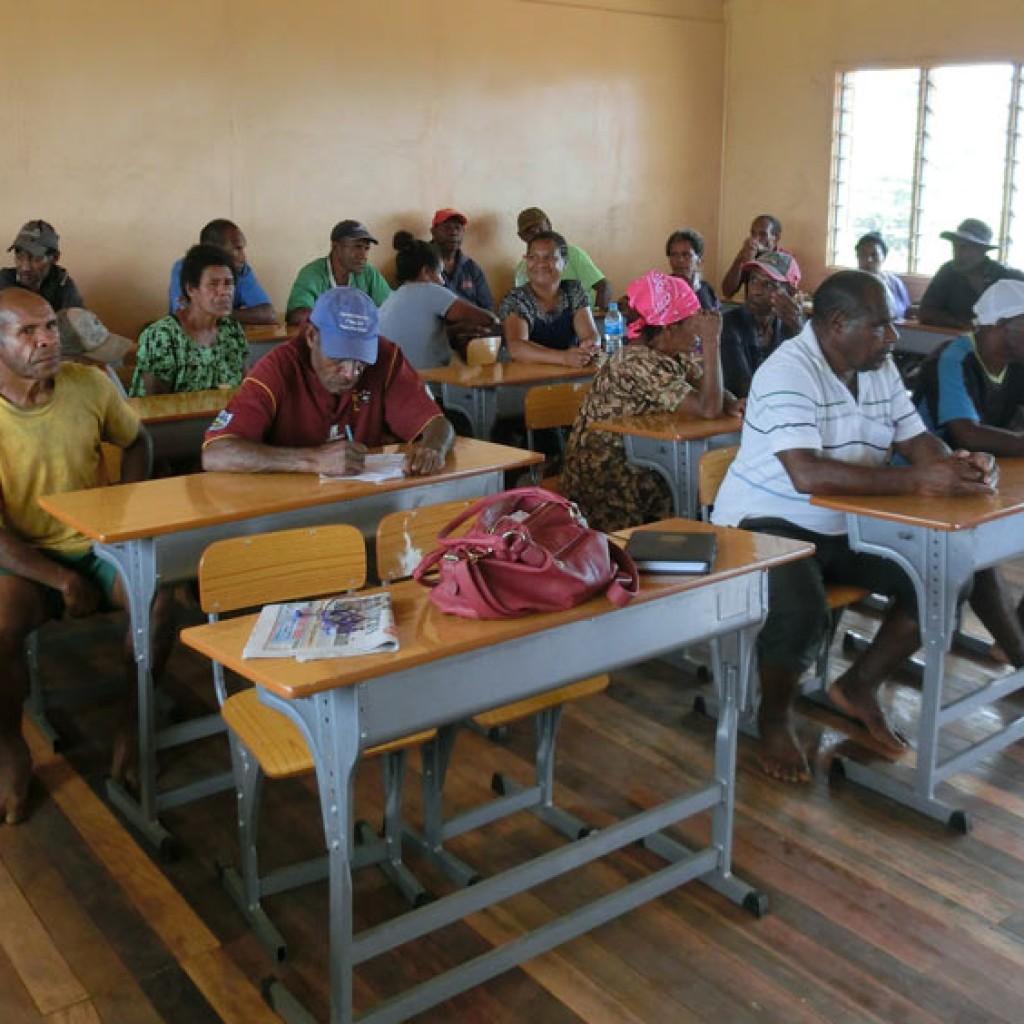 Kokoda Track community consultation