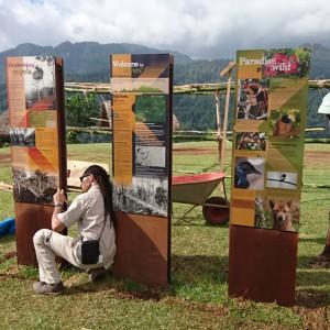 Kokoda Track - Owers Corner installation