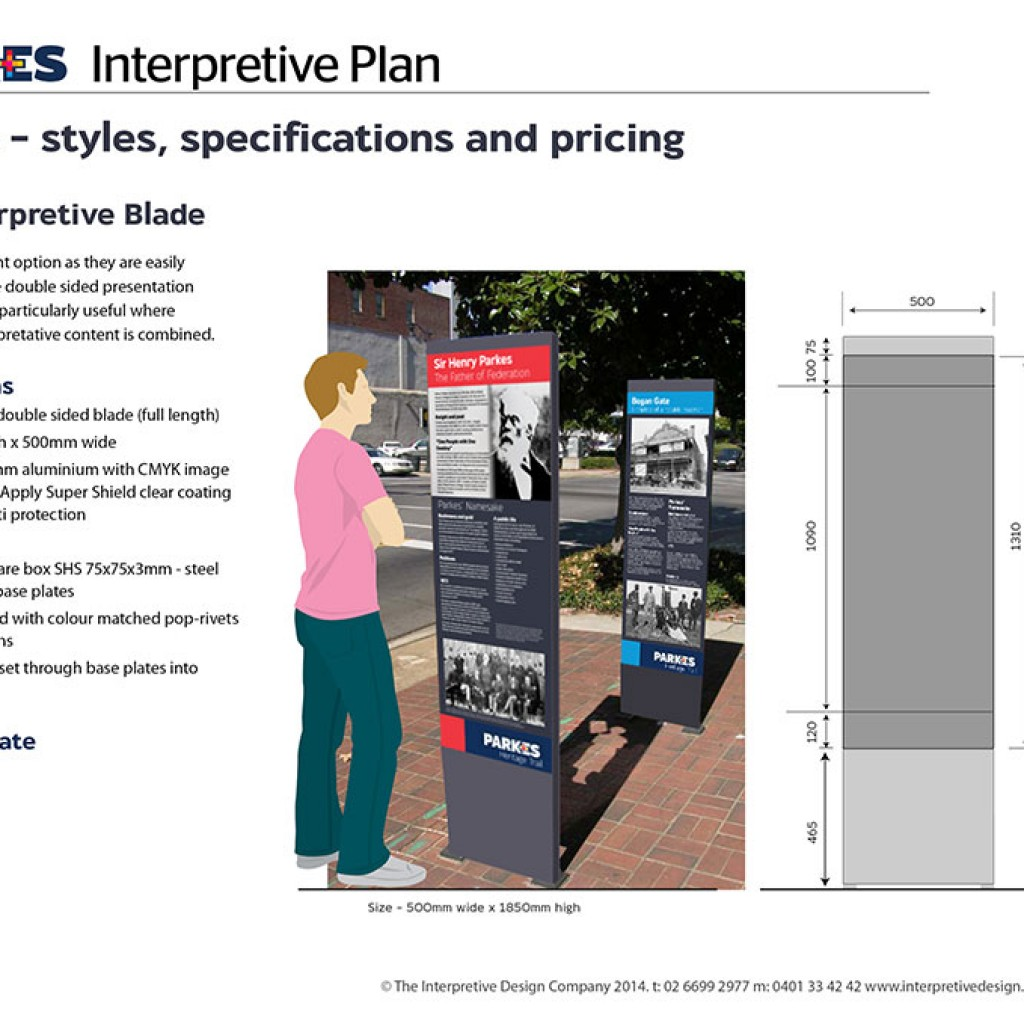 Heritage Trail Interpretive Plan page 29