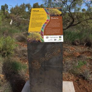 Bush Tucker Signage - Ngurin Walking Track