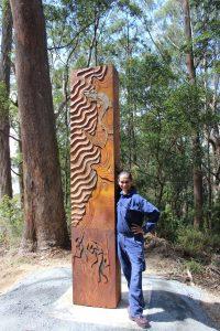 Sculpture trail - large diorama