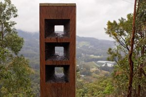 Sculpture trail - postcard