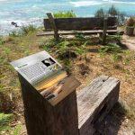 Penders installation - small interpretive sign
