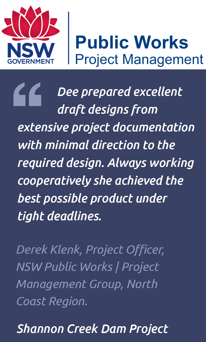 Signage design testimonial – Shannon Creek Dam
