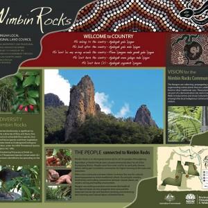 Nimbin Rocks Aboriginal Signage