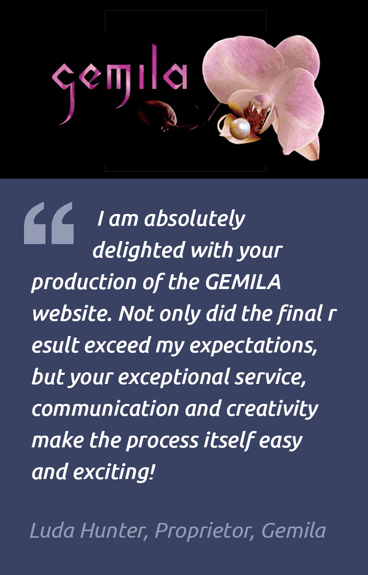 Ecommerce Website Testimonial – Gemila