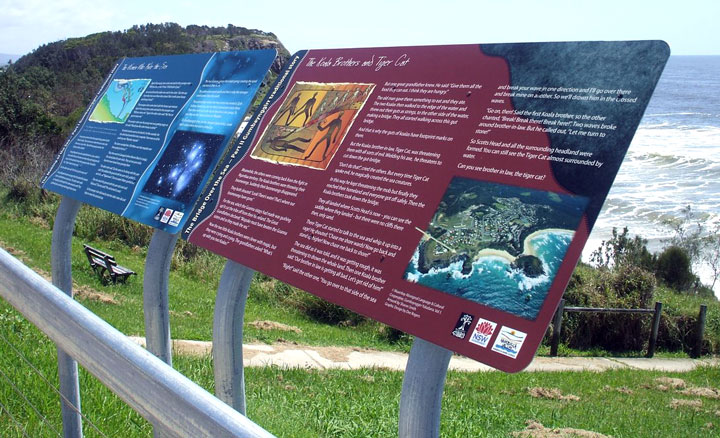 Dreamtime Signs, Gumbaynggirr Nation