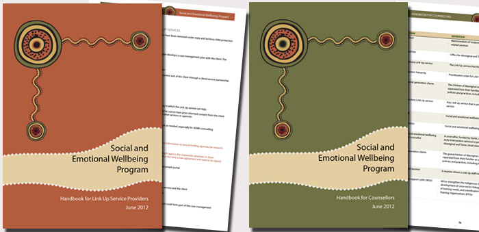 Indigenous  health handbook design
