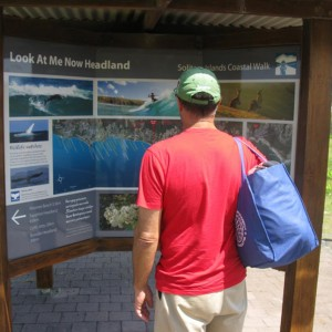 Solitary Islands Coastal Walk Tourist Information Sign