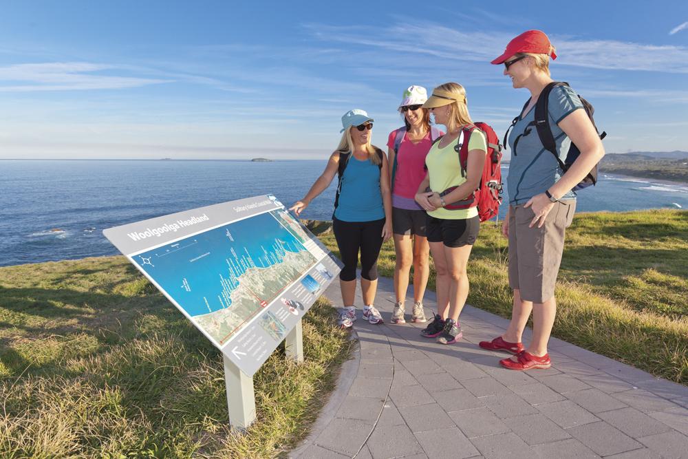 Solitary Islands Coastal Walk Woolgoolga Wayfinding