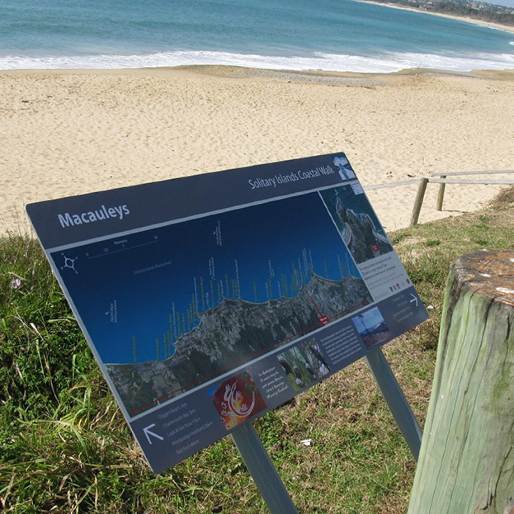 Solitary Islands Coastal Walk - Wayfinding