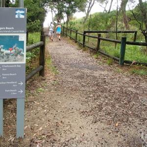 Solitary Islands Coastal Walk directional