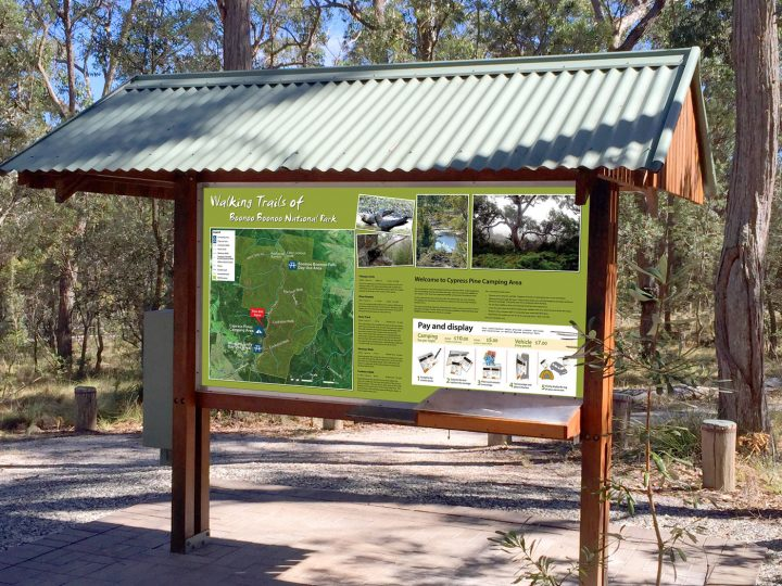 Walking Trail Signs, Boonoo Boonoo National Park