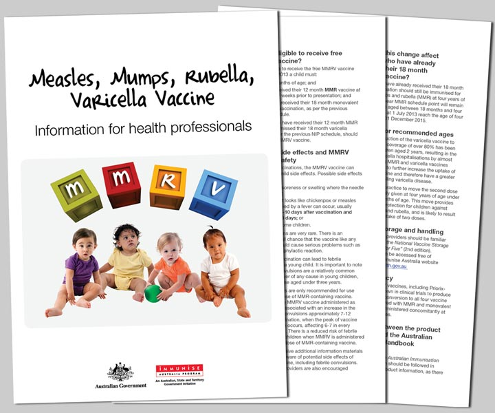MMRV Provider Booklet