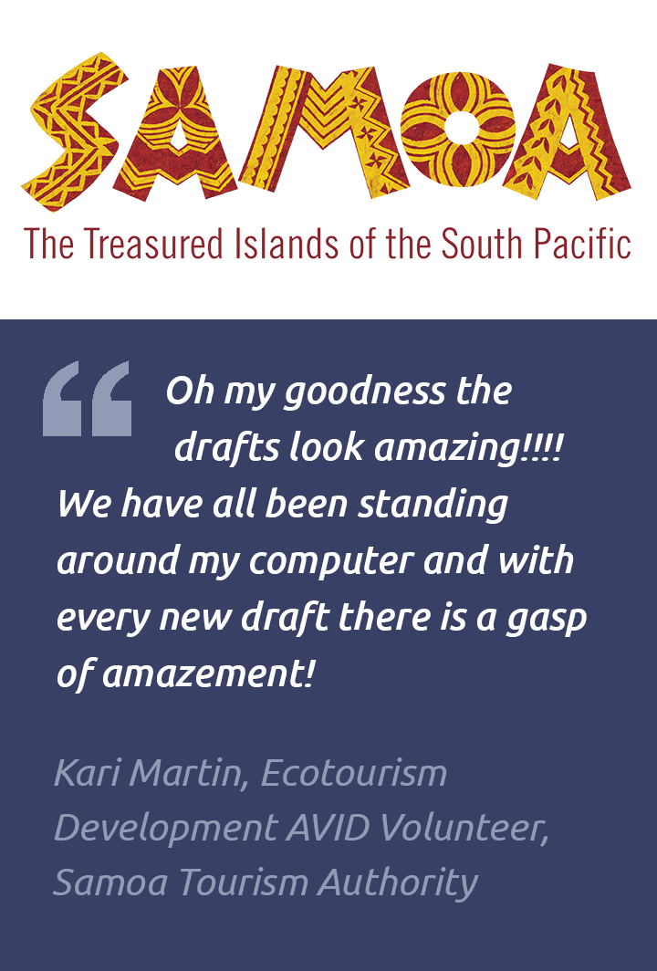 Testimonial, Samoan Tourism Authority