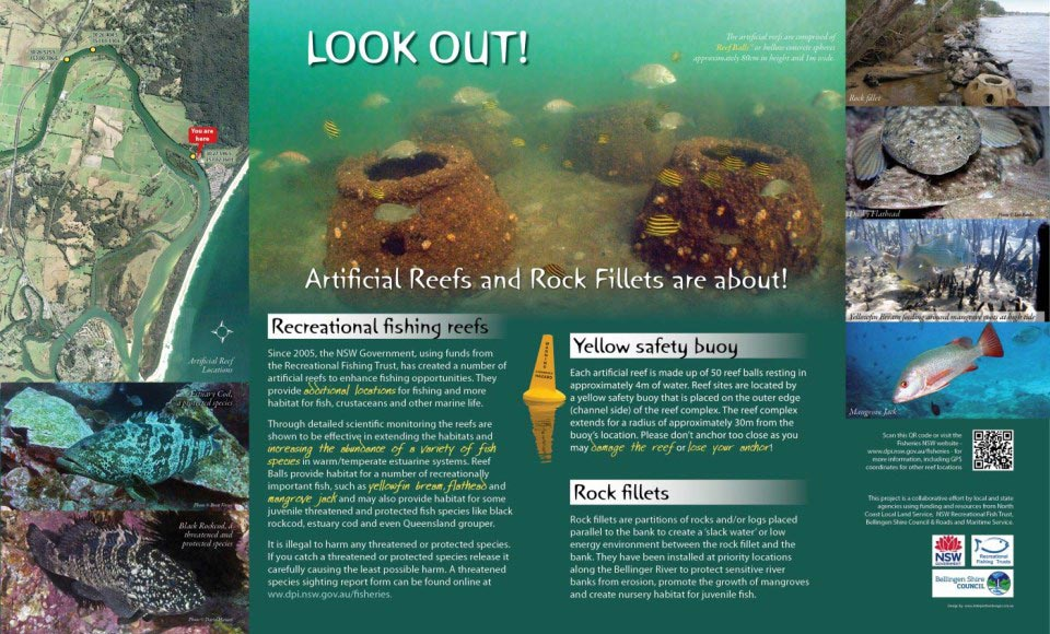 Environmental Panel, Reef Balls & Rock Fillets