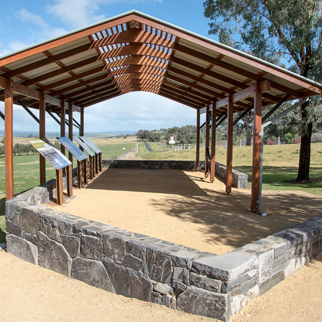 Cowra POW Camp Viewing Platform