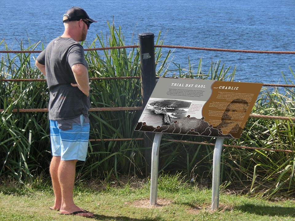 Aboriginal Interpretive Signage