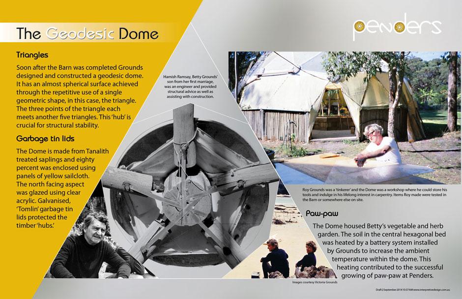 Penders Heritage Geodesic Dome