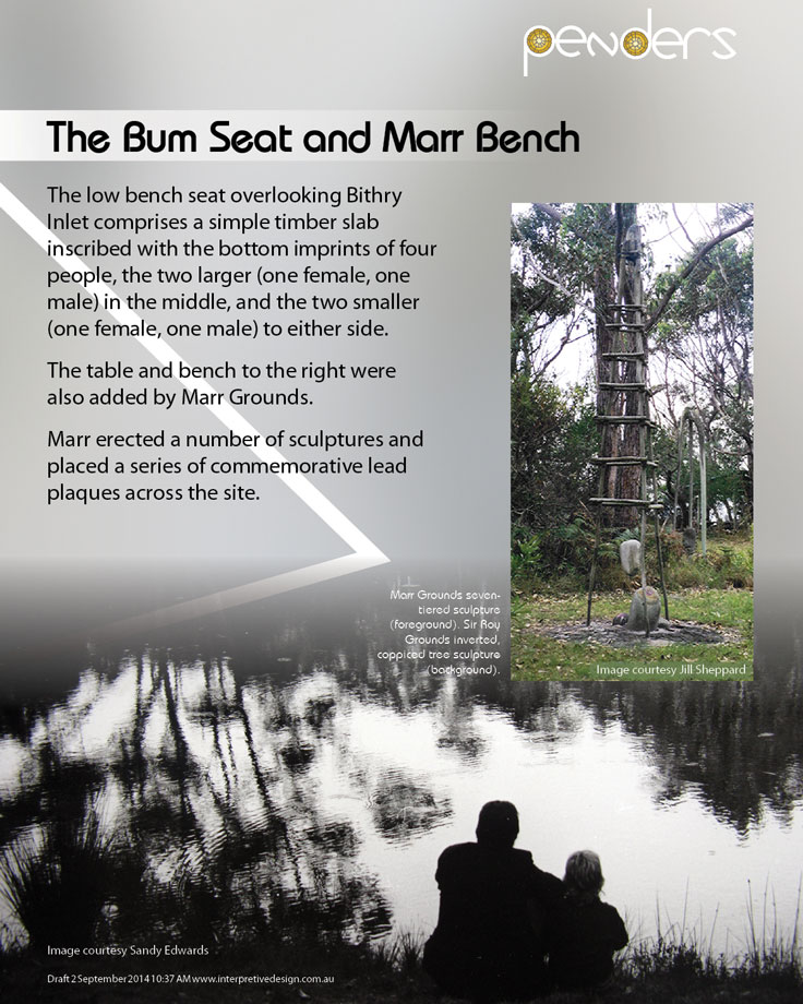 Heritage Interpretive Signage - The Bum Seat