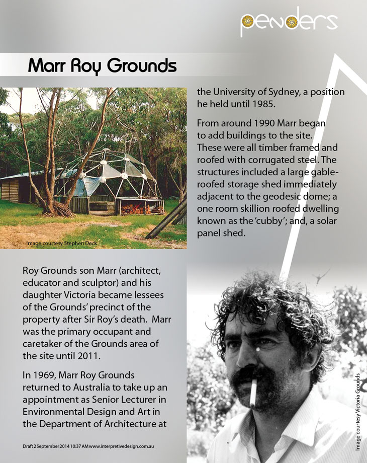 Heritage Interpretive Signage - Marr Grounds