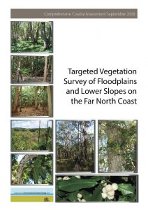 Vegetation Survey document graphic design
