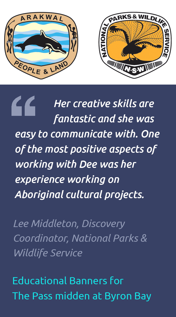 Testimonial Aboriginal educational material