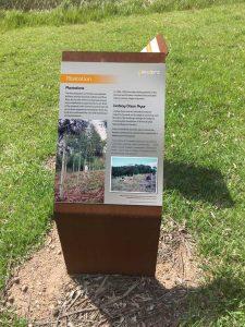 Penders Heritage site - Ken Myer signage