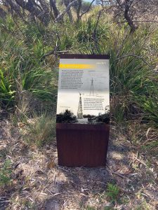 Penders Heritage site - Roy Grounds signage