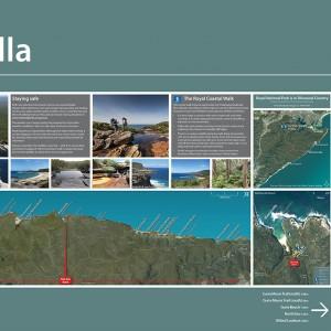 Royal NP map signs