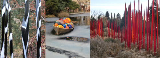 Dale Chihuly at the Denver Botanical Gardens