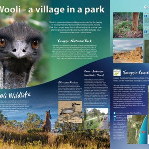 Wooli Tourist Information Sign