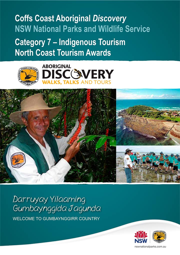 Aboriginal Discovery Tourism award submission document