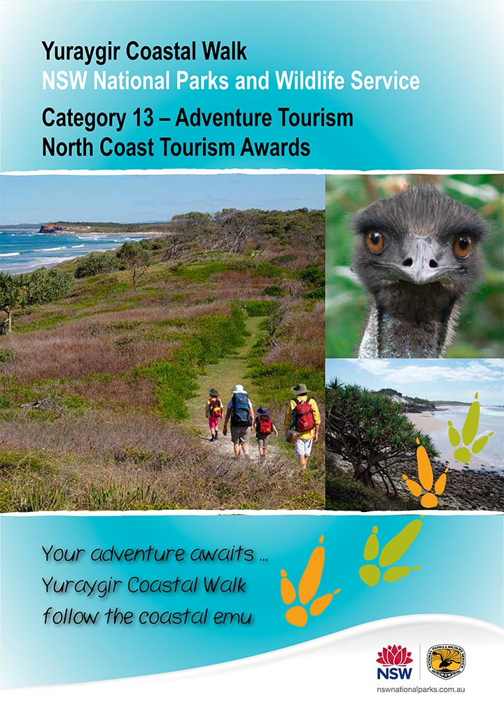 Yuraygir Tourism award submission document