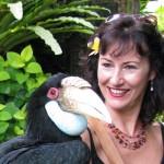 Dee Rogers in Ubud, Bali