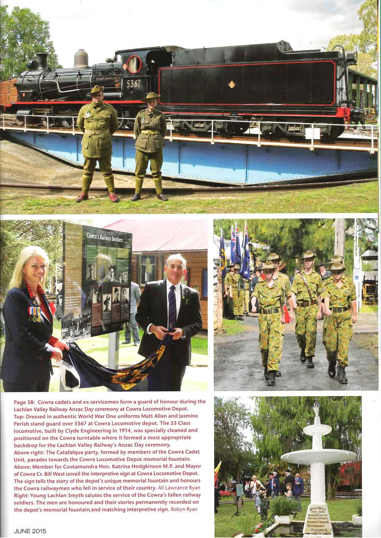 Cowra's Railway Soldiers - Railway Digest p2