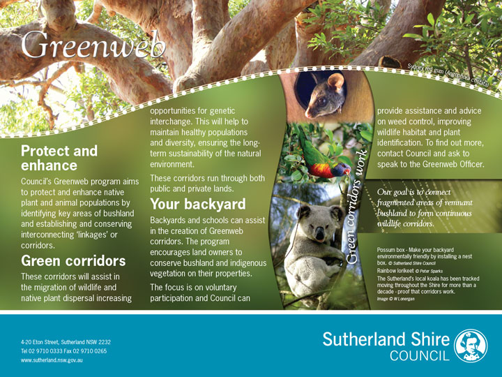 Environmental Signs, Sutherland Shire Council