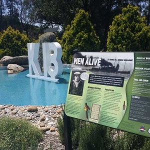 WW1 K13 Submarine Interpretive Sign