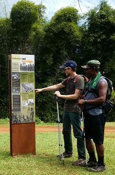 War History Signage, Kokoda Track